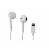 Apple Earphone Headset with Lightning Connector